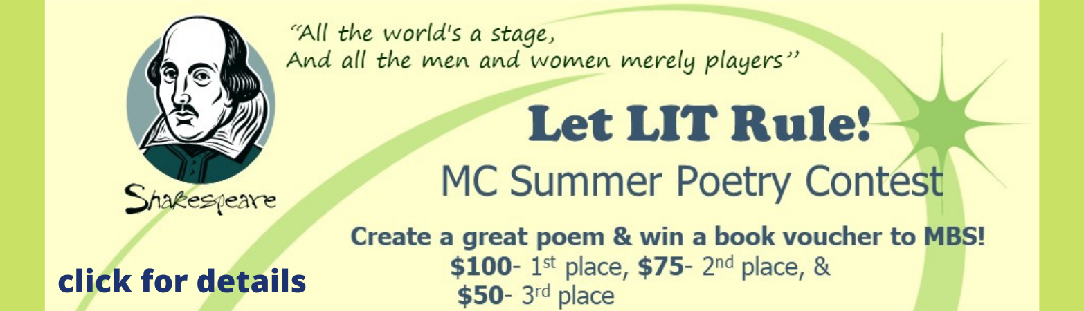 click for details on the MC summer poetry contest